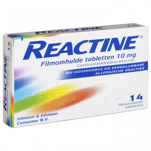 REACTINE 14CPR 5MG+120MG RP